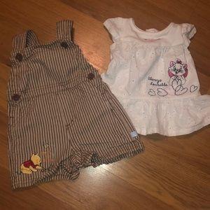 Disney newborn set 0-3 months